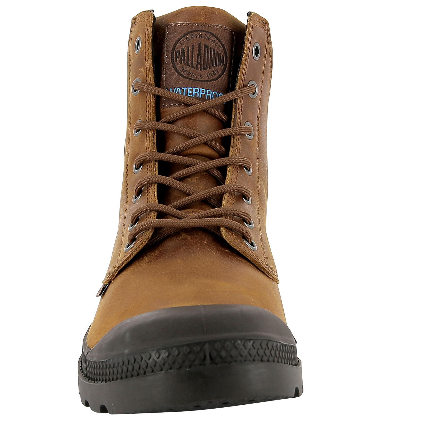 Palladium-Mens-Pampa-Cuff-Lux-Designer-Waterproof-Leather-Walking-Boots-Shoes thumbnail 25