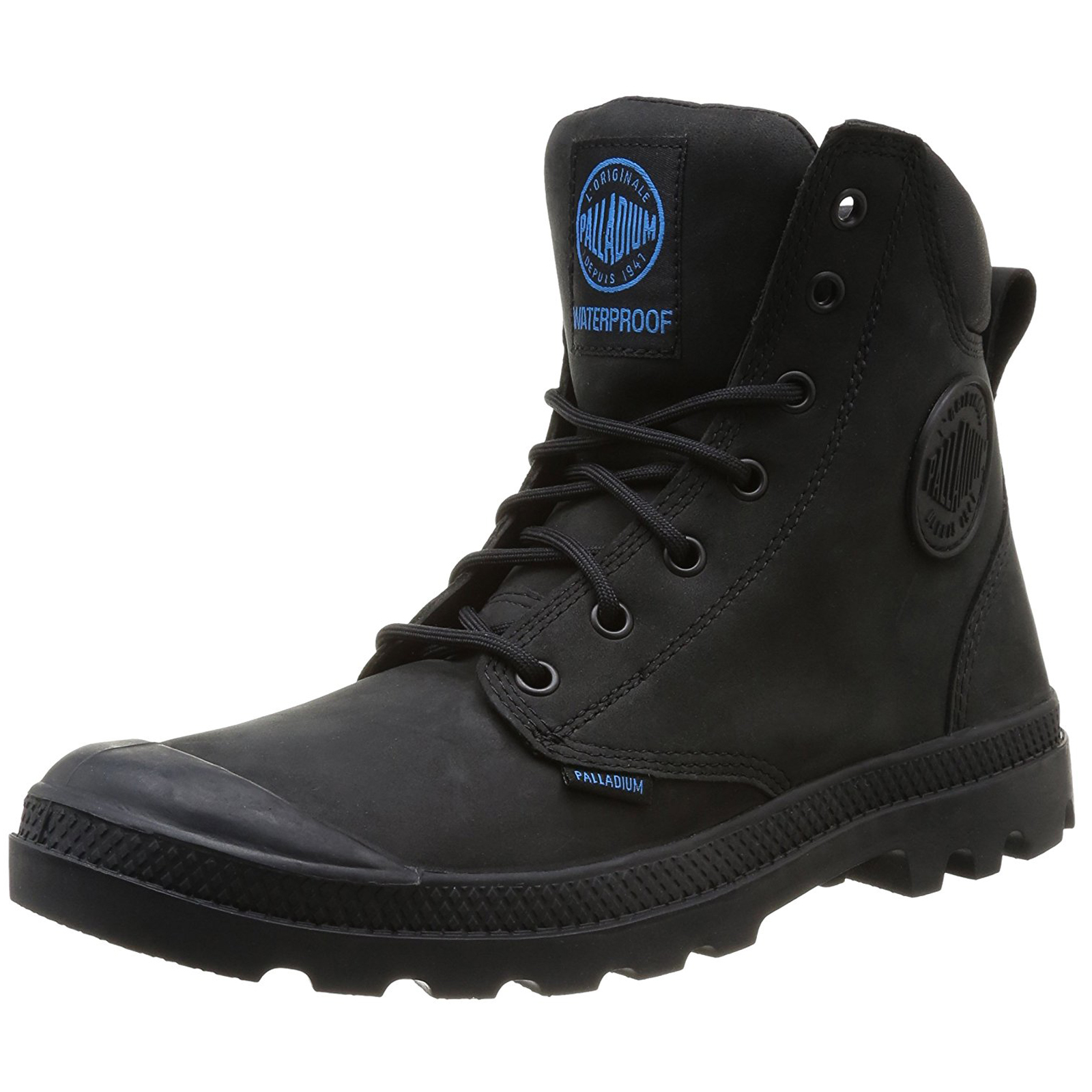 Palladium-Mens-Pampa-Cuff-Lux-Designer-Waterproof-Leather-Walking-Boots-Shoes thumbnail 3