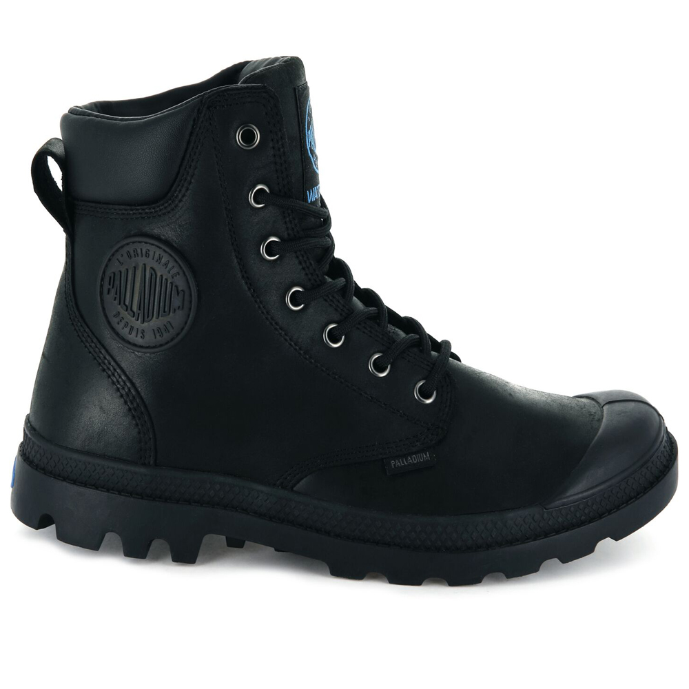 Palladium-Mens-Pampa-Cuff-Lux-Designer-Waterproof-Leather-Walking-Boots-Shoes thumbnail 6