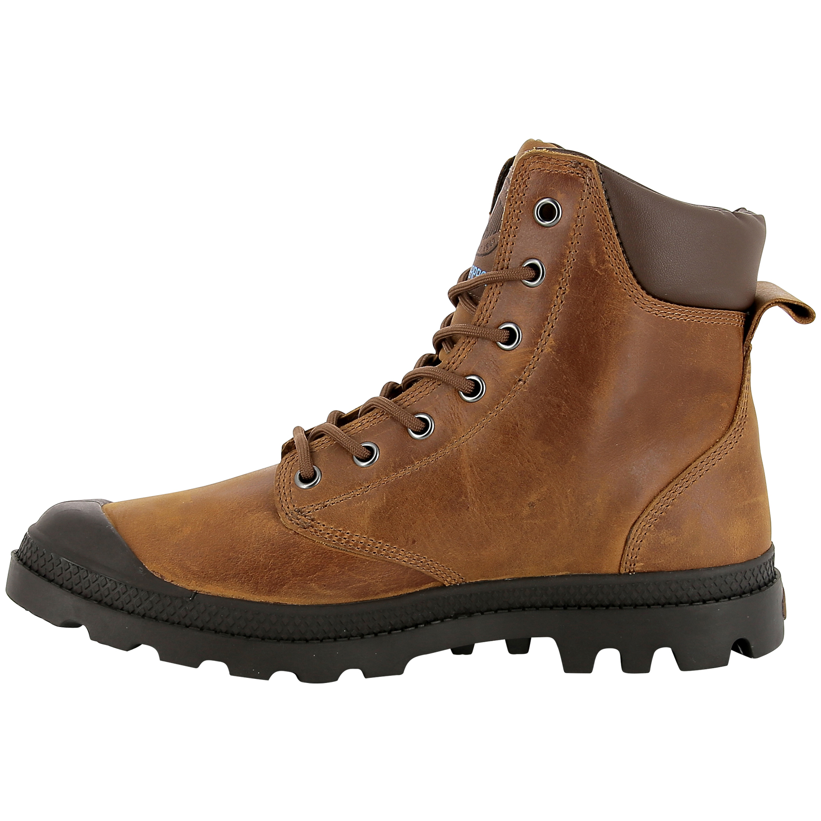 Palladium-Mens-Pampa-Cuff-Lux-Designer-Waterproof-Leather-Walking-Boots-Shoes thumbnail 24