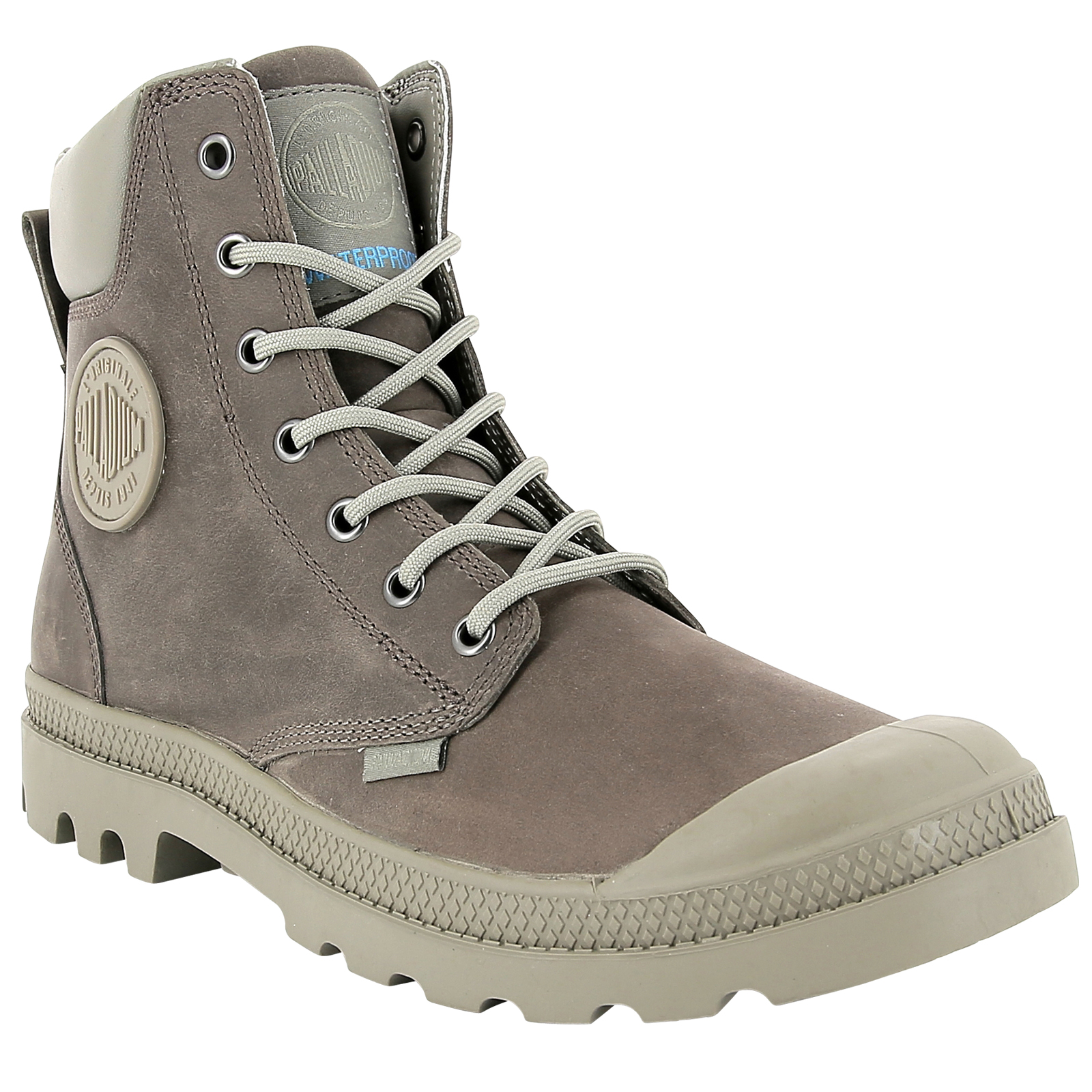 Palladium-Mens-Pampa-Cuff-Lux-Designer-Waterproof-Leather-Walking-Boots-Shoes thumbnail 18