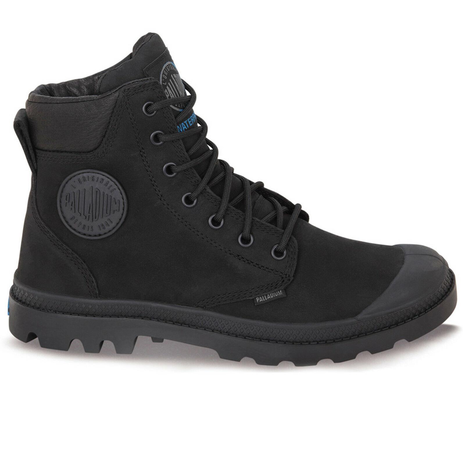 thumbnail 3 - Palladium Mens Pampa Cuff Lux Designer Waterproof Leather Walking Boots Shoes
