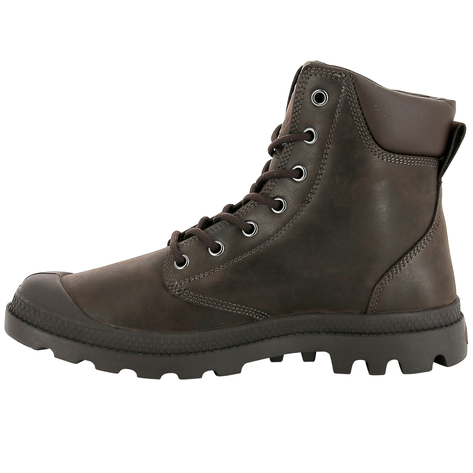 Palladium-Mens-Pampa-Cuff-Lux-Designer-Waterproof-Leather-Walking-Boots-Shoes thumbnail 14