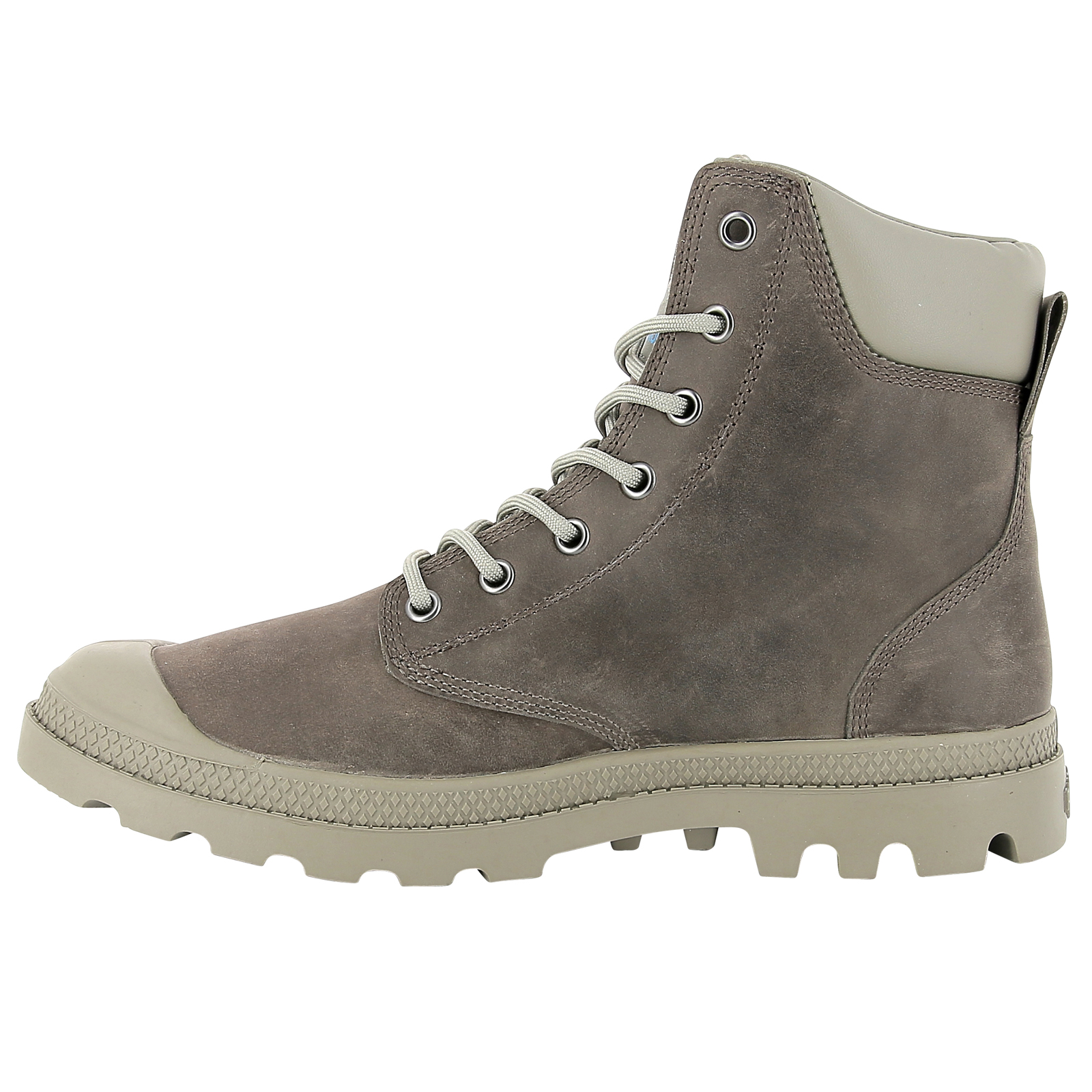 Palladium-Mens-Pampa-Cuff-Lux-Designer-Waterproof-Leather-Walking-Boots-Shoes thumbnail 19
