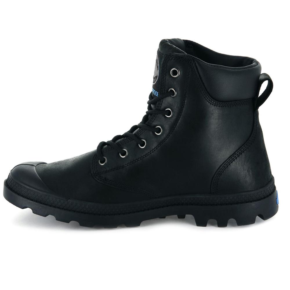 thumbnail 4 - Palladium Mens Pampa Cuff Lux Designer Waterproof Leather Walking Boots Shoes