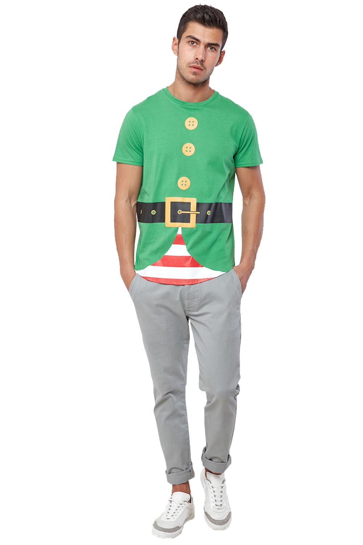 Seasons-Greetings-Mens-Christmas-T-Shirts-Novelty-Festive-Crew-Neck-Winter-Tees thumbnail 15