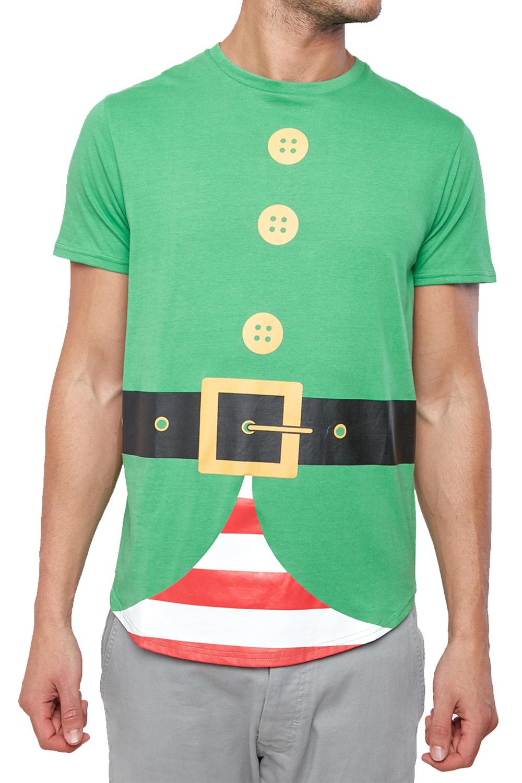 Seasons-Greetings-Mens-Christmas-T-Shirts-Novelty-Festive-Crew-Neck-Winter-Tees thumbnail 16