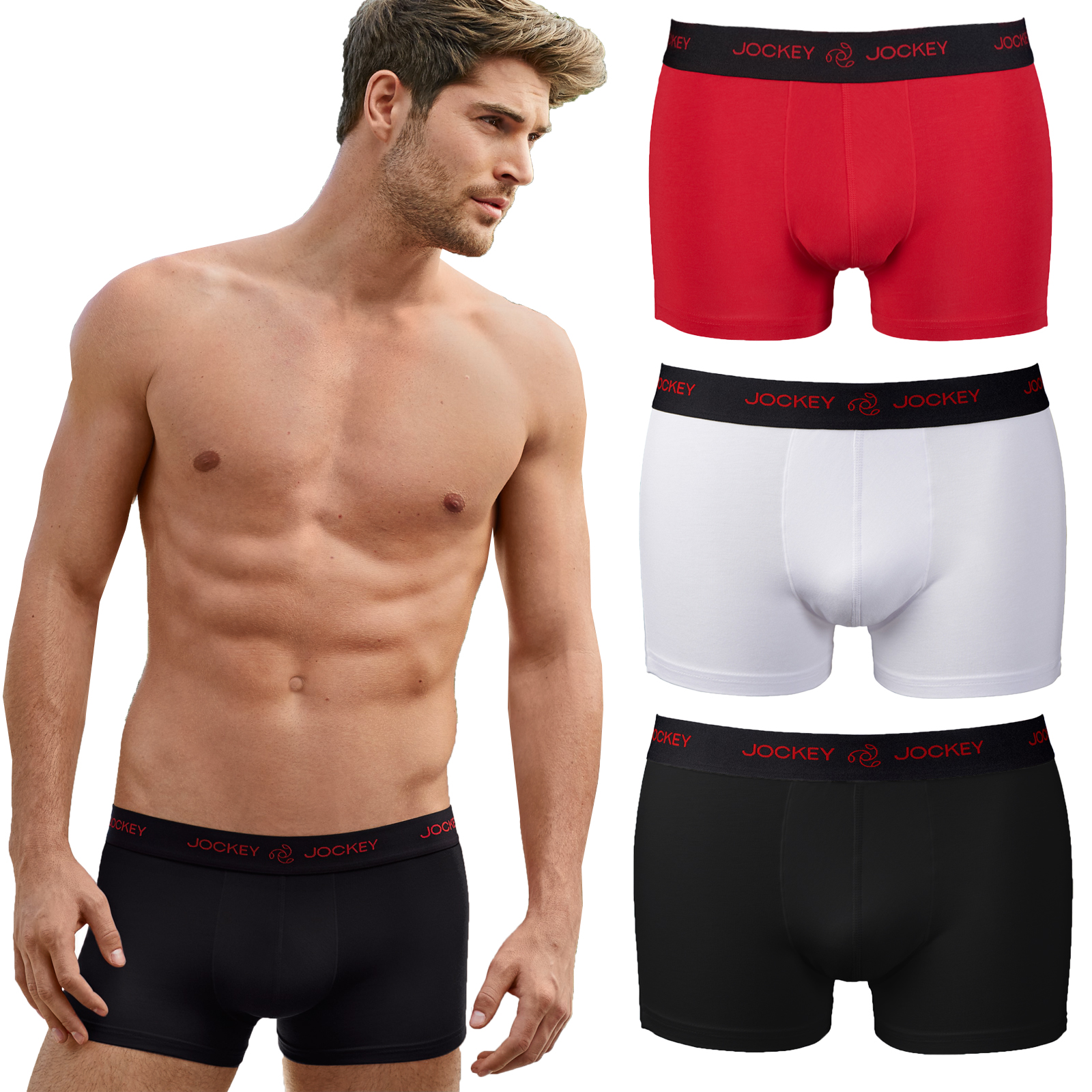 factory outlets world-wide selection of 100% quality Details about Jockey Mens Boxer Shorts Underwear Stylish 3D Innovations  Pants Waistband Trunks