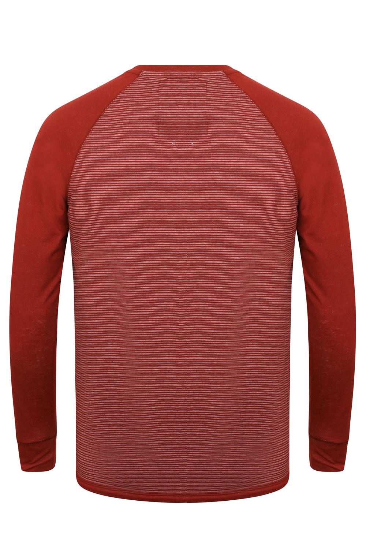 Tokyo-Laundry-Para-Hombre-Raglan-Camiseta-manga-larga-de-algodon-suave-mezcla-Slub-Jersey-Top miniatura 11