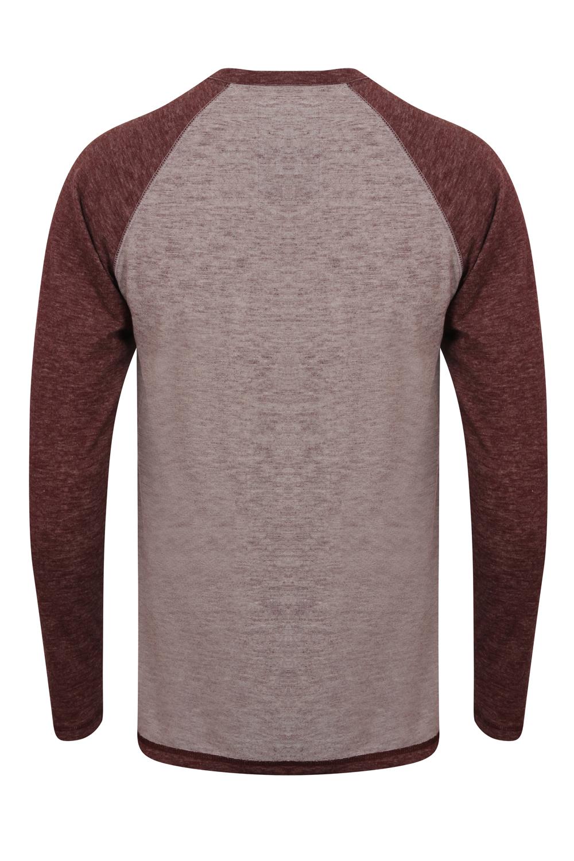 Tokyo-Laundry-Mens-Raglan-Long-Sleeve-T-Shirt-Soft-Cotton-Blend-Slub-Jersey-Top thumbnail 27