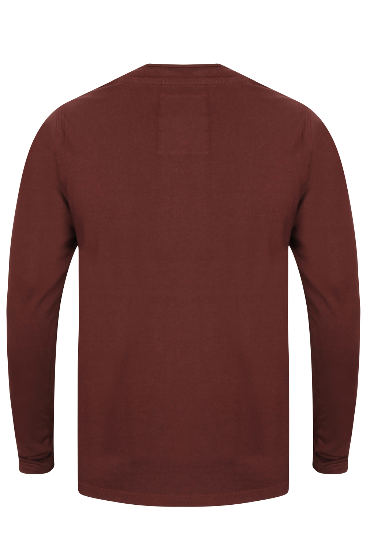 Tokyo-Laundry-Para-Hombre-Raglan-Camiseta-manga-larga-de-algodon-suave-mezcla-Slub-Jersey-Top miniatura 17