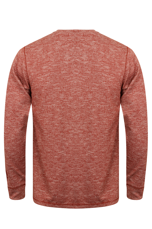 Tokyo-Laundry-Para-Hombre-Raglan-Camiseta-manga-larga-de-algodon-suave-mezcla-Slub-Jersey-Top miniatura 5