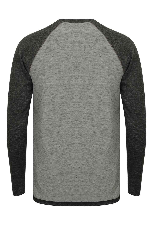 Tokyo-Laundry-Mens-Raglan-Long-Sleeve-T-Shirt-Soft-Cotton-Blend-Slub-Jersey-Top thumbnail 25