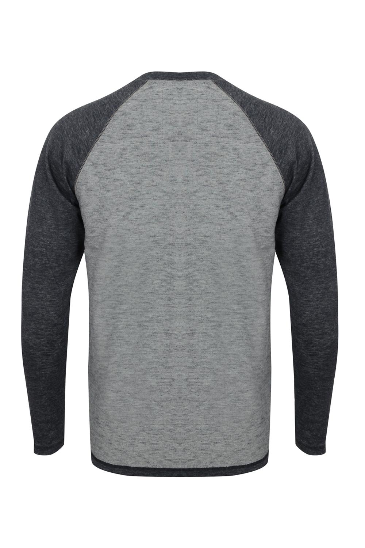 Tokyo-Laundry-Para-Hombre-Raglan-Camiseta-manga-larga-de-algodon-suave-mezcla-Slub-Jersey-Top miniatura 23