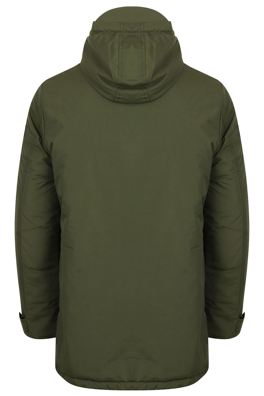 Mens-Tokyo-Laundry-Eskell-Hooded-Coat-Long-line-Parka-Padded-Windbreaker-Jacket Indexbild 10