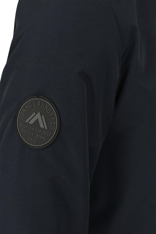Mens-Tokyo-Laundry-Eskell-Hooded-Coat-Long-line-Parka-Padded-Windbreaker-Jacket Indexbild 3