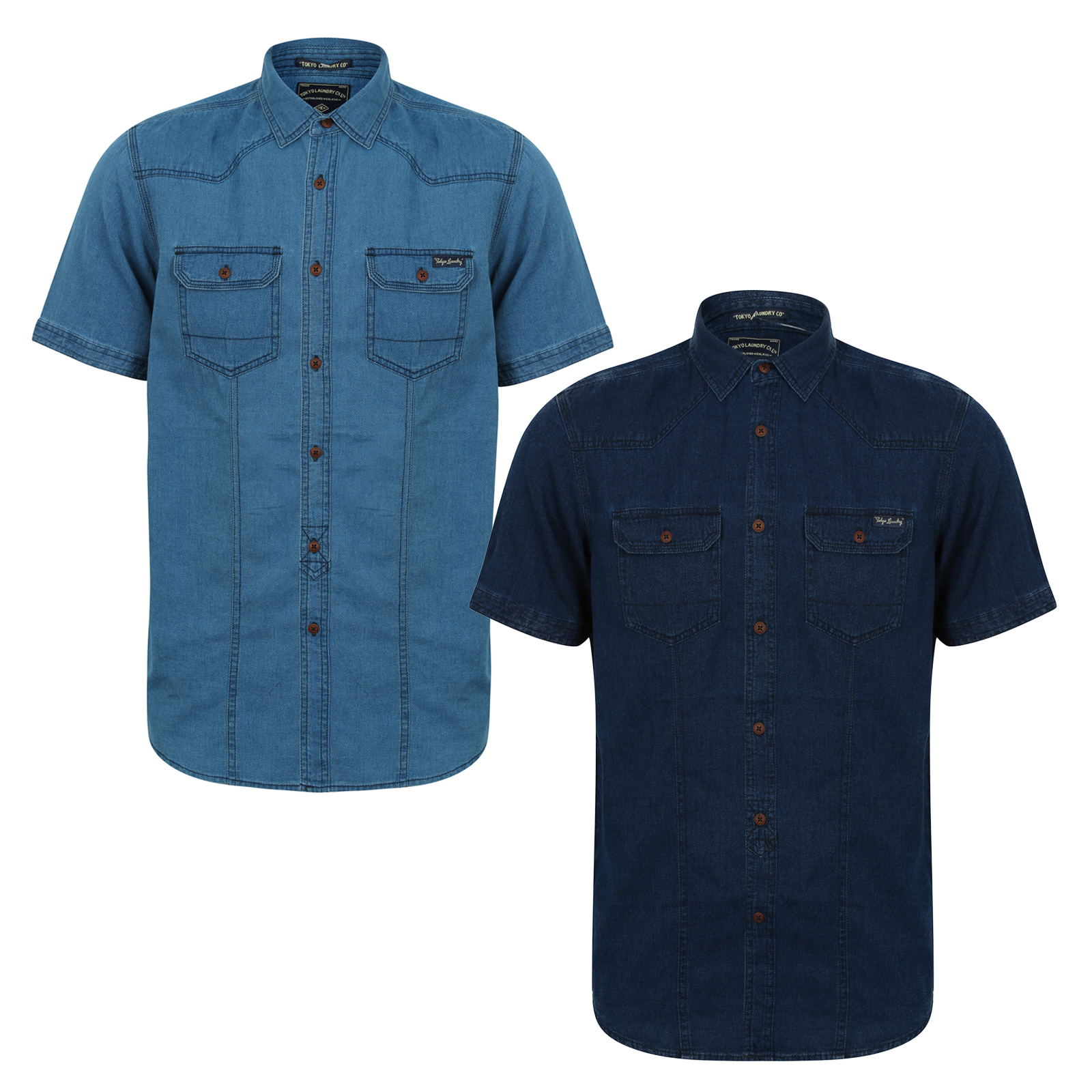 Barry Jean 2XL Mens Button Casual Shirt Short Sleeve