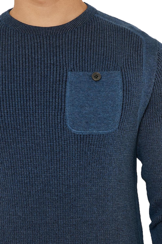 Vecchia-UOMO-CELTICO-girocollo-classico-Sweater-Knit-WAFFLE-PULLOVER-MAGLIONE miniatura 10