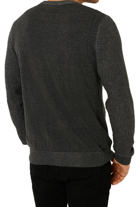 Vecchia-UOMO-CELTICO-girocollo-classico-Sweater-Knit-WAFFLE-PULLOVER-MAGLIONE miniatura 4