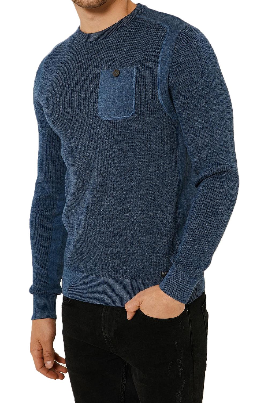 Vecchia-UOMO-CELTICO-girocollo-classico-Sweater-Knit-WAFFLE-PULLOVER-MAGLIONE miniatura 8