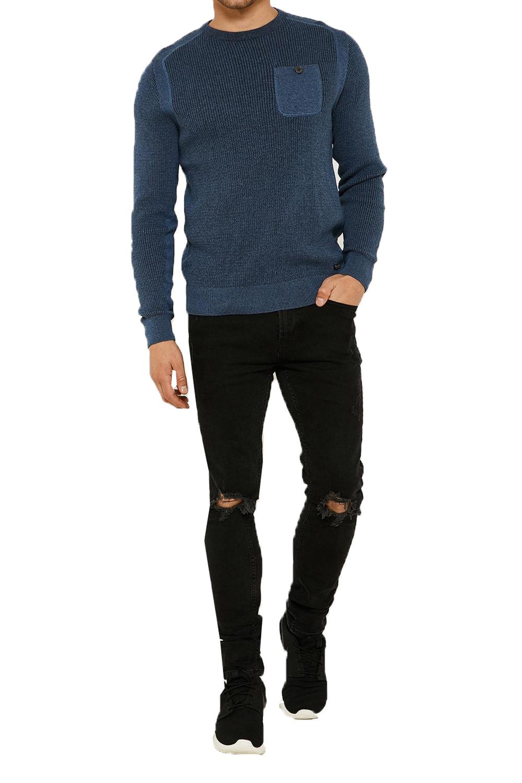 Vecchia-UOMO-CELTICO-girocollo-classico-Sweater-Knit-WAFFLE-PULLOVER-MAGLIONE miniatura 11