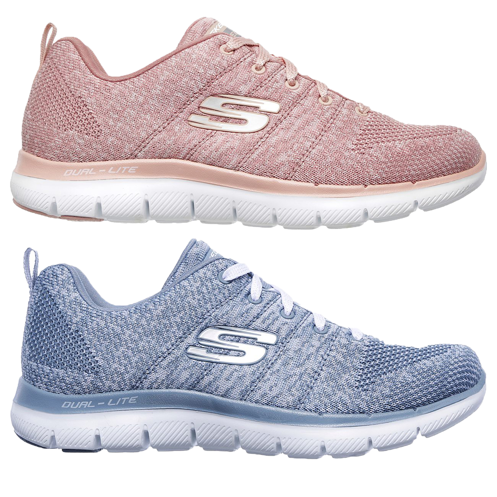07453c133078c Skechers Womens Sports Flex Appeal 2.0 High Energy Trainer Soft ...