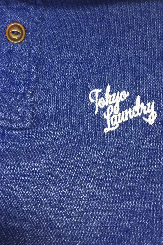 Tokyo-Laundry-Mens-Penn-State-Polo-Shirt-Designer-Short-Sleeve-Plain-Pique-Top thumbnail 7