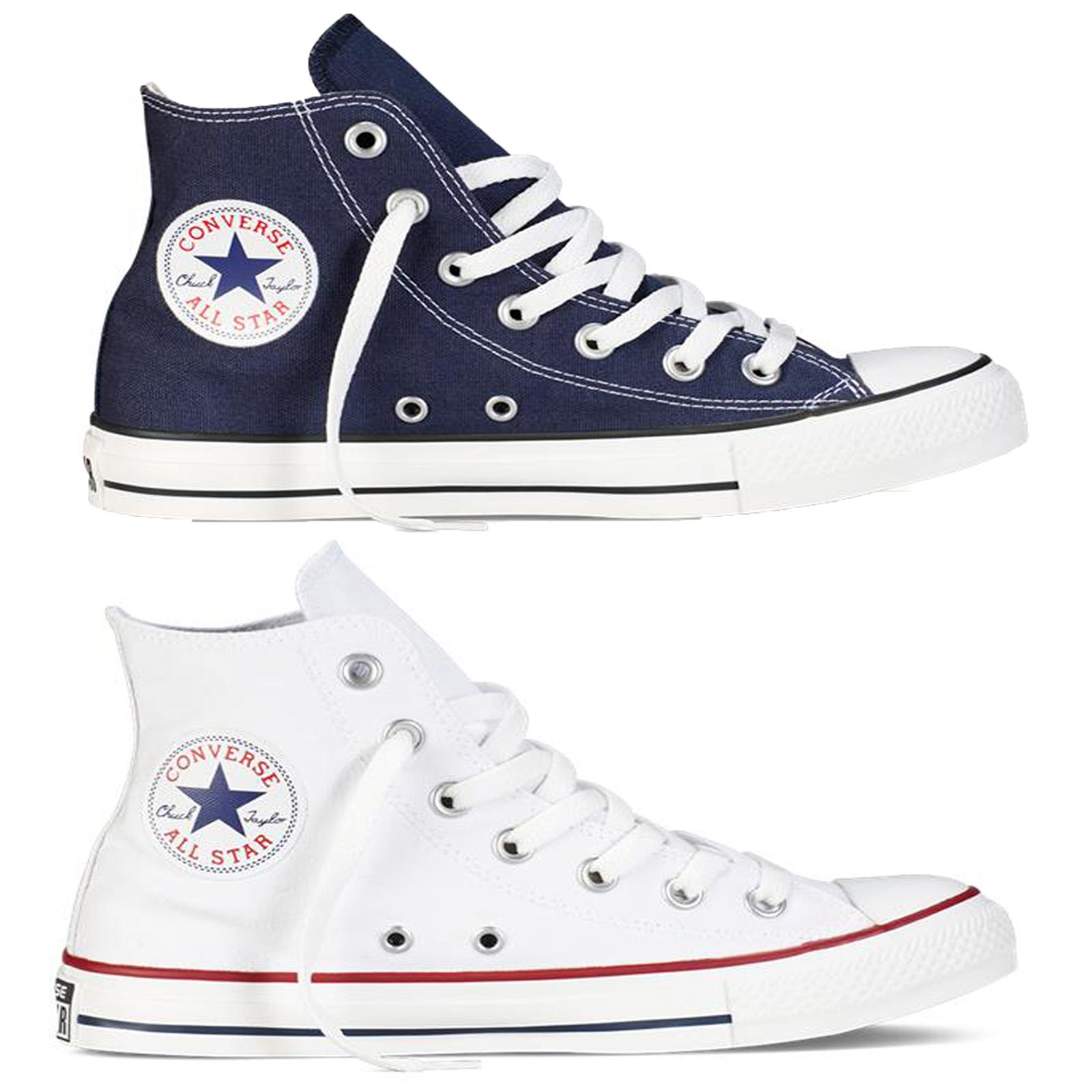 Converse All Star Hi Top Adulti Scarpe Da Ginnastica Alla Caviglia Scarpe Da Ginnastica Unisex iconica di marca