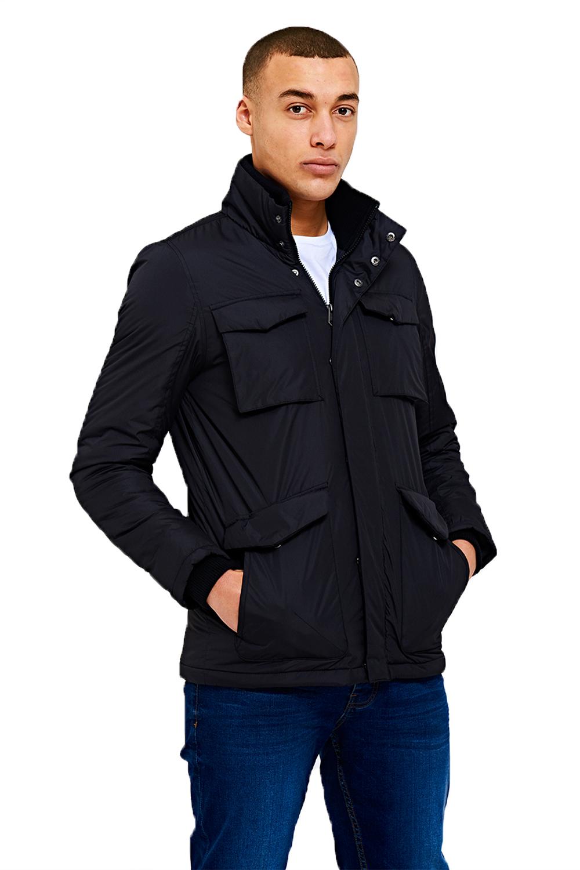 Threadbare-Mens-Designer-Pontiac-Multi-Pocket-Lightly-Padded-Windbreaker-Jacket thumbnail 4