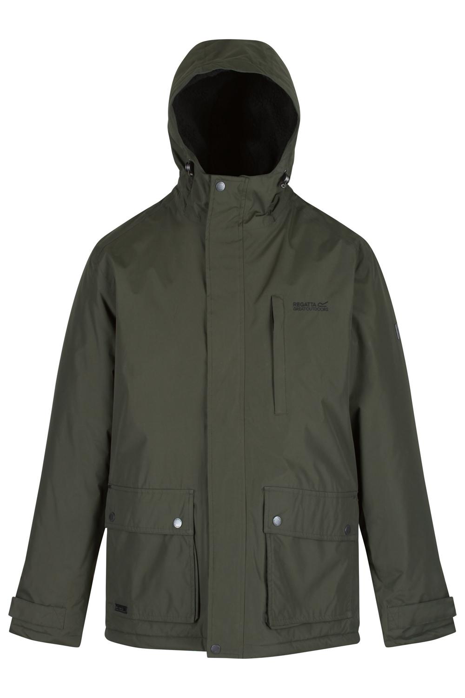 Regatta Homme Sterling Veste à capuche Hydrafort Coupe-vent imperméable à l/'eau Manteau RRP £ 90