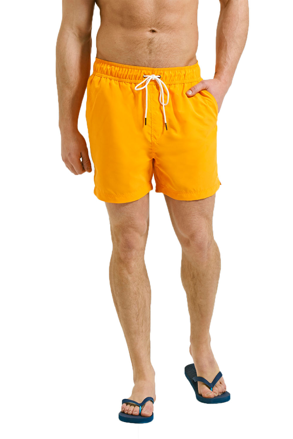 ffd27426a3 Mens Threadbare Swim Shorts Mesh Lined Knee Length Beach Board ...