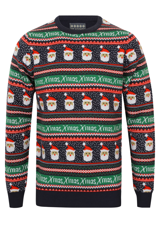 Seasons Greetings Mens Womens Fair Isle Christmas Jumper Luxury ...