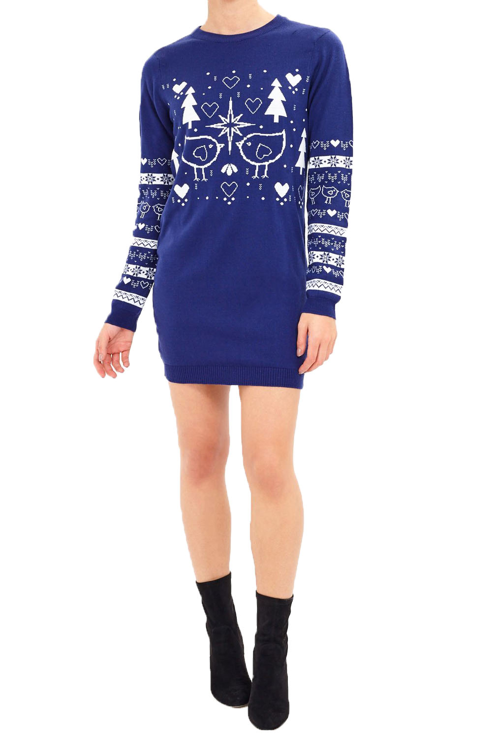 brave soul womens novelty christmas jumpers or dresses
