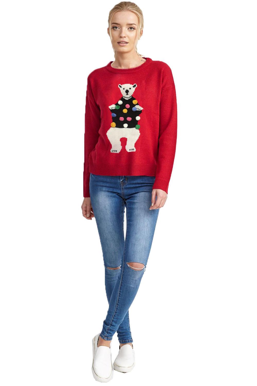 ef5093ed9e Brave Soul Womens Novelty Christmas Jumpers Or Dresses Ladies ...