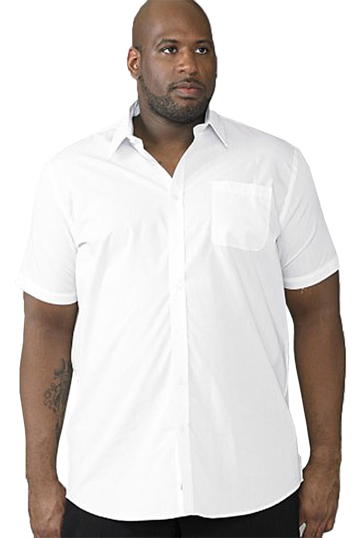 Duke D555 Mens Big King Size Tall Aeron or Delmar Easy Iron Short Sleeve Shirts