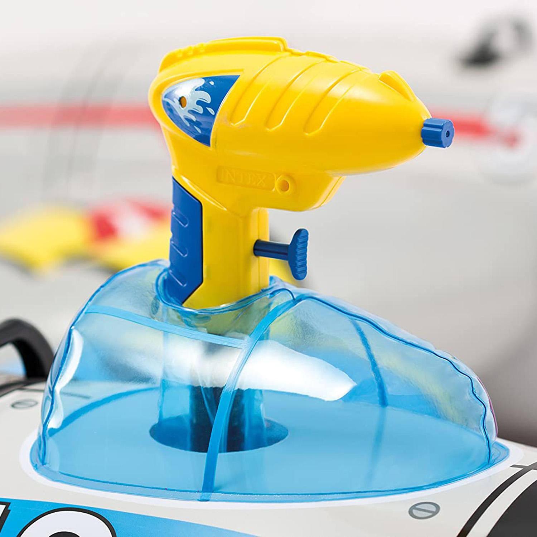 Intex-Water-Gun-Plane-Ride-On-Kids-Swimming-Pool-Beach-Inflatable-Fun-Summer-Toy thumbnail 7