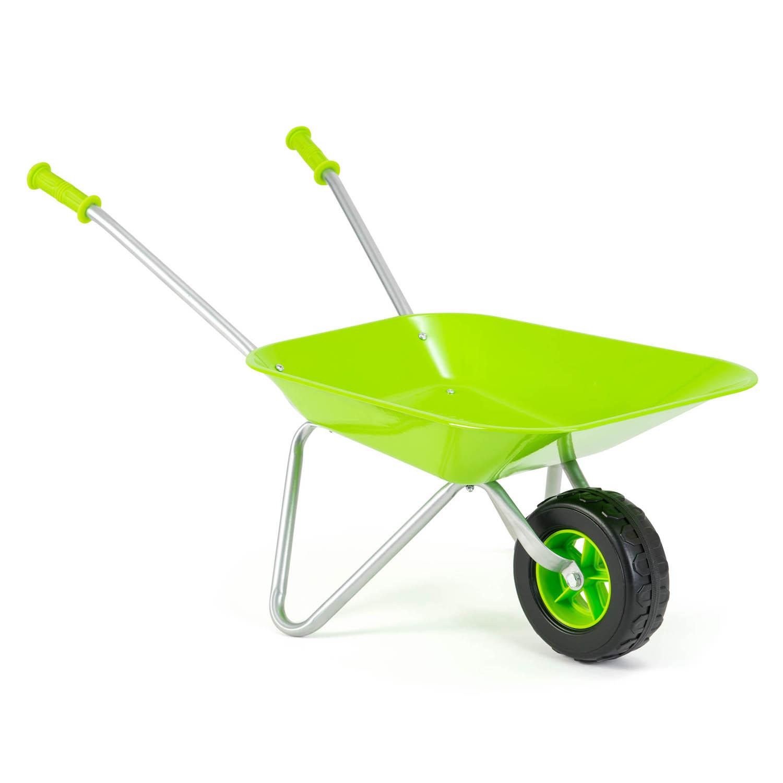Little-Roots-Childs-Metal-Wheelbarrow-Kids-Gardening-Tools-Garden-Games-Activity thumbnail 3