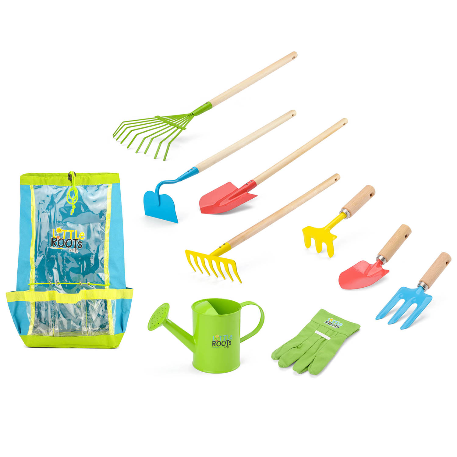 Little-Roots-Kids-Wheelbarrow-Or-Gardening-Kits-Garden-Tools-Outdoor-Activity thumbnail 8