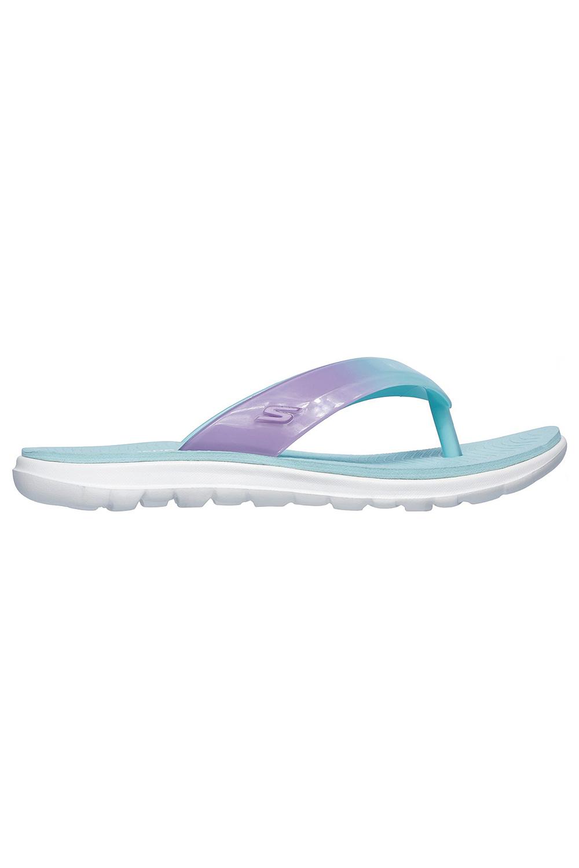 Skechers-Womens-On-The-Go-Nextwave-Ultra-Light-Goga-Mat-Summer-Beach-Flip-Flops thumbnail 9