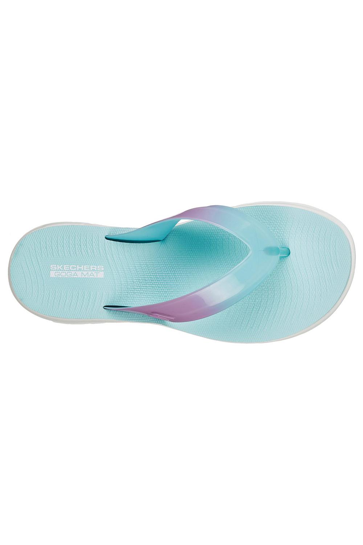 Skechers-Womens-On-The-Go-Nextwave-Ultra-Light-Goga-Mat-Summer-Beach-Flip-Flops thumbnail 11