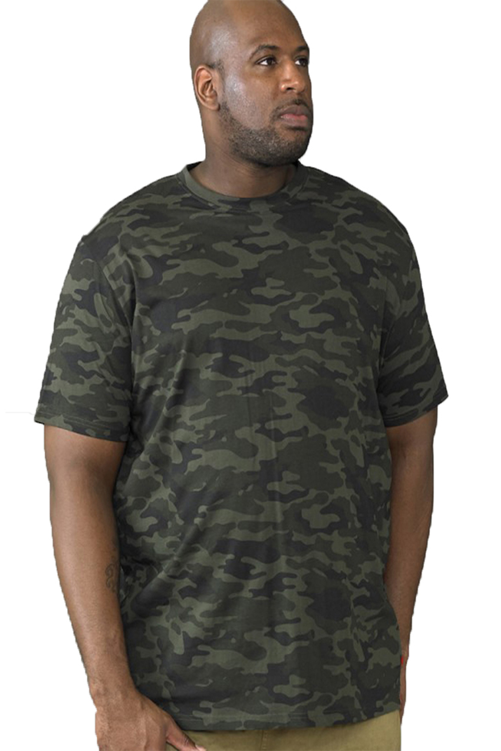 Duke-D555-Mens-Gaston-Big-Tall-King-Size-Camouflage-Army-Style-Camo-T-Shirt thumbnail 3