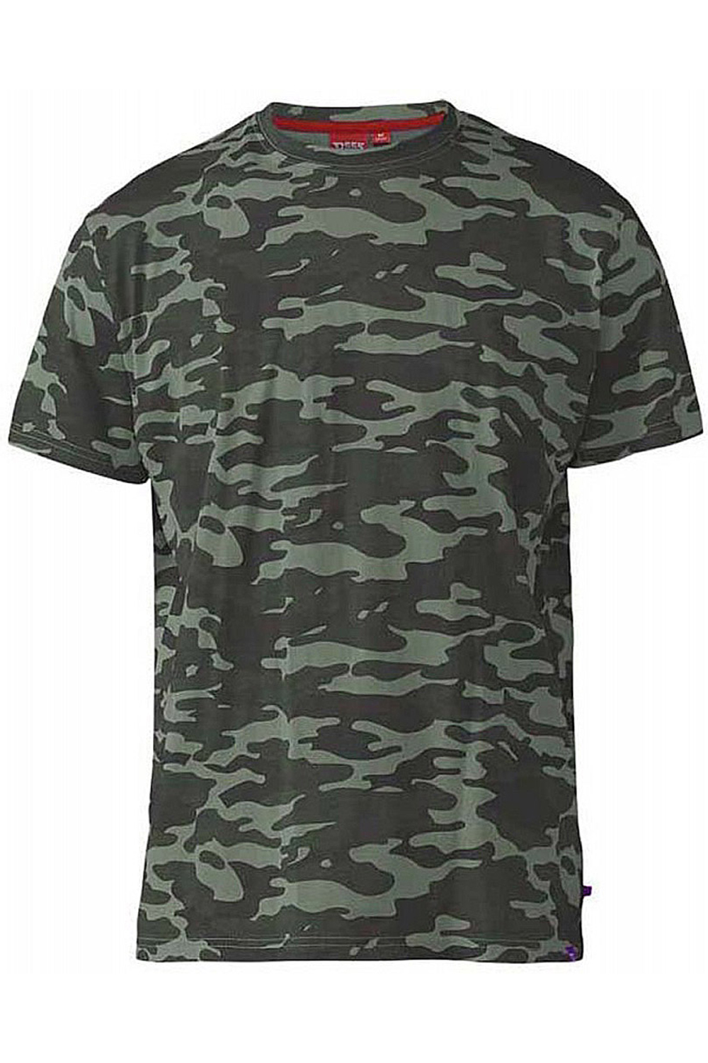 Duke-D555-Mens-Gaston-Big-Tall-King-Size-Camouflage-Army-Style-Camo-T-Shirt thumbnail 4