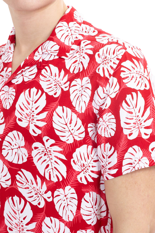 Brave Soul Mens Designer Stylish Tropical Hawaiian Floral Print