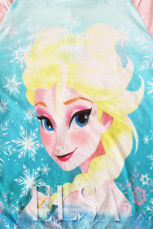 Chicas-de-Disney-Frozen-Oficial-Elsa-Camiseta-Sudadera-Reina-de-Nieve-aclaramiento-final miniatura 4