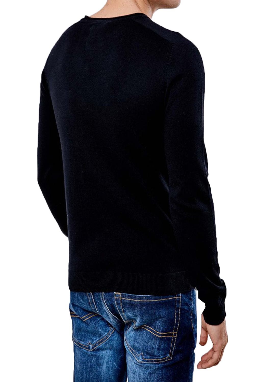 Threadbare-Mens-Bruce-Crew-Neck-Textured-Sweater-Cotton-Raglan-Knitted-Jumper thumbnail 7
