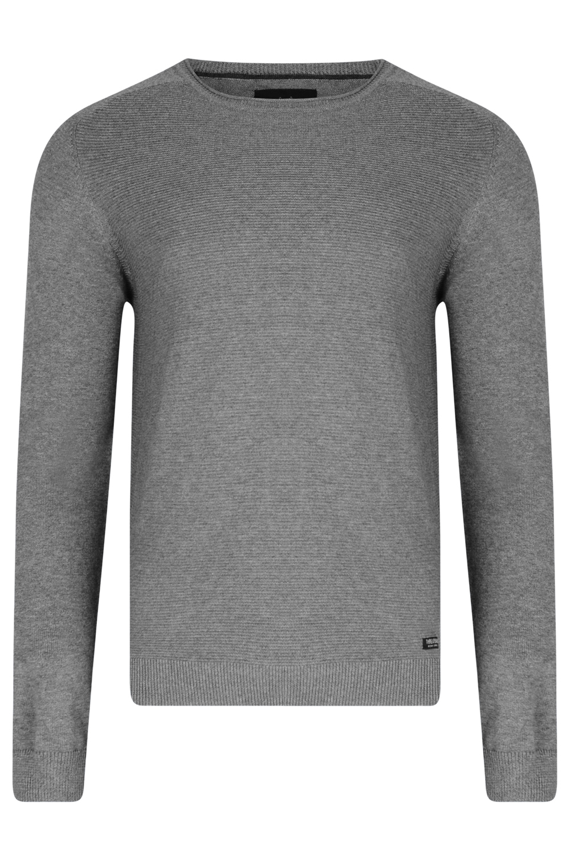 Threadbare-Mens-Bruce-Crew-Neck-Textured-Sweater-Cotton-Raglan-Knitted-Jumper thumbnail 5