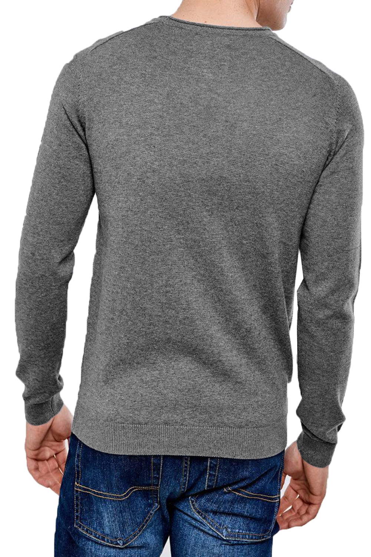 Threadbare-Mens-Bruce-Crew-Neck-Textured-Sweater-Cotton-Raglan-Knitted-Jumper thumbnail 3