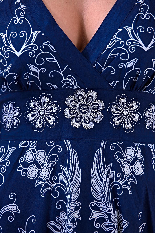 Pistachio-Womens-Cross-Over-V-Neck-Midi-Dress-Floral-Summer-Evening-Attire thumbnail 14