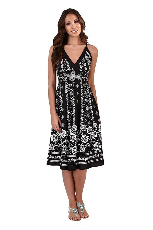 Pistachio-Womens-Cross-Over-V-Neck-Midi-Dress-Floral-Summer-Evening-Attire thumbnail 8