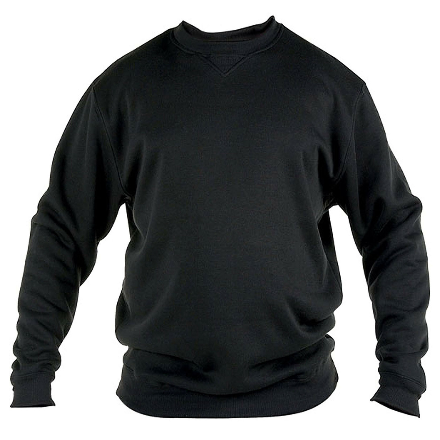 Duke-D555-Big-Tall-King-Taille-Homme-Rockford-Sweat-shirt-Col-Cotele-Polaire-Pull miniature 3
